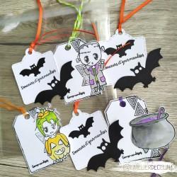 Set sachet deco halloween 2