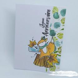 Carte anniversaire Ecureuil...
